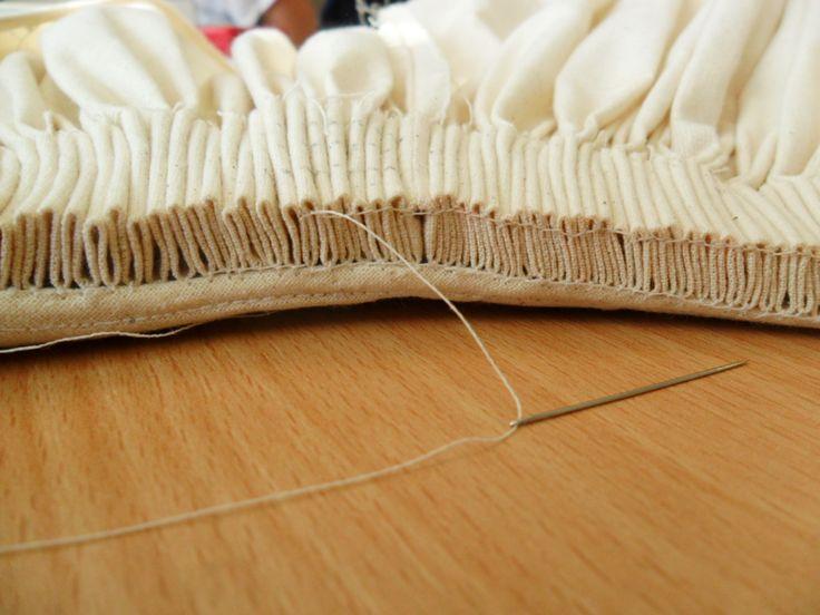 cartridge pleats | Heather Coad: Cartridge Pleat Skirt: Design One