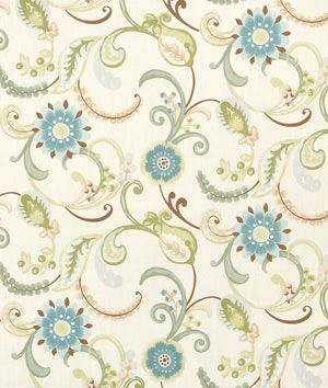 Swavelle / Mill Creek Lundsford Opal- online fabric store with lots of cute patterns..under $10/yd beautiful fun fabrics
