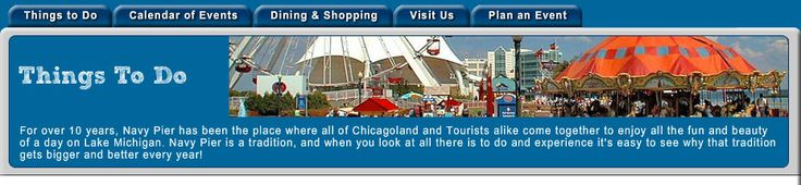 Sightseeing and Dining Cruises from Navy Pier  Cruising in Chicago is a great way to see the sights and fill the tummy!