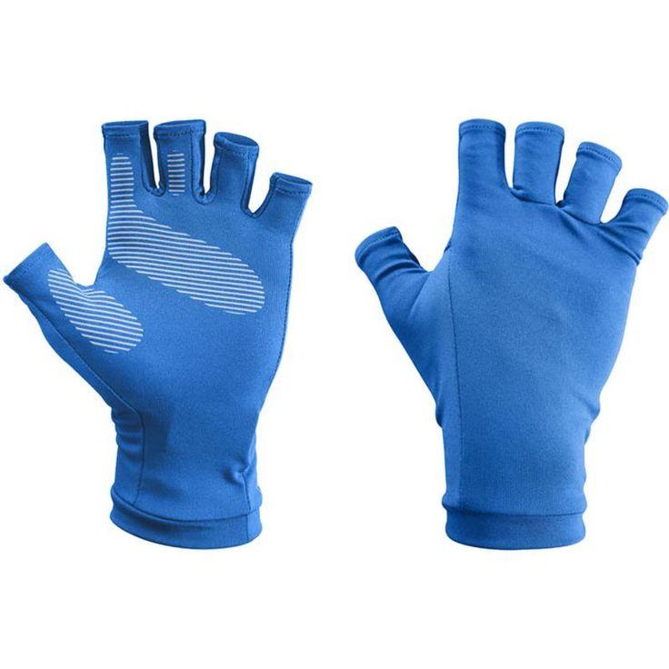Sunday Afternoons UVShield Sun Gloves, Men's, Size: L/XL, Blue
