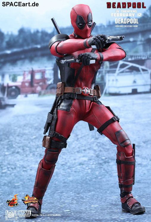 Deadpool: Wade Wilson Deadpool, Deluxe-Figur (voll beweglich) ... https://spaceart.de/produkte/dpl002.php