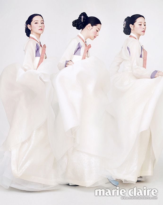 Lee Young Ae - Marie Claire Magazine February Issue '14