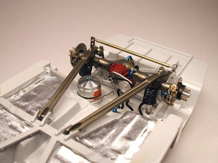 Nascar Model car suspension.