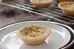 These mini quiches make a wonderful snack or appetizer, but they're also great for everyday meals! @DinnerByDesign