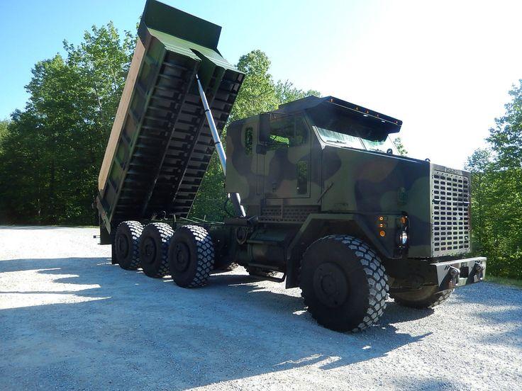 1994-M1070-Oshkosh-Military-Dump-Truck-8x8