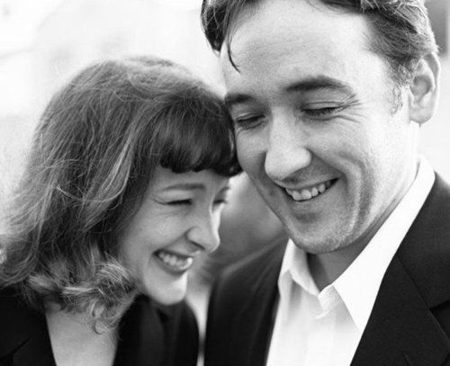 John and Joan Cusack.  two of my favorite actors.  can you imagine how much fun their house was growing up?