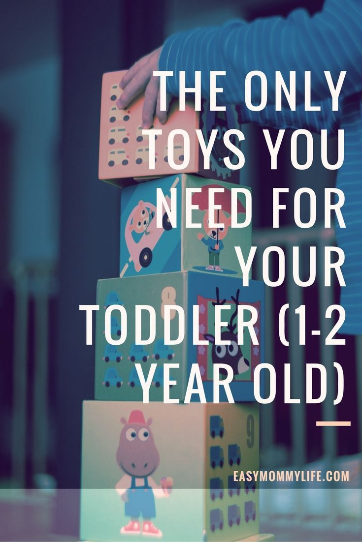 The Only Toys You Need For Your Toddler ( 1-2 years)