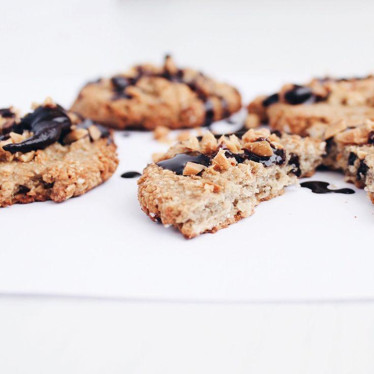 Oatmeal Biscuits (8 biscuits)   vegan, LF, GF