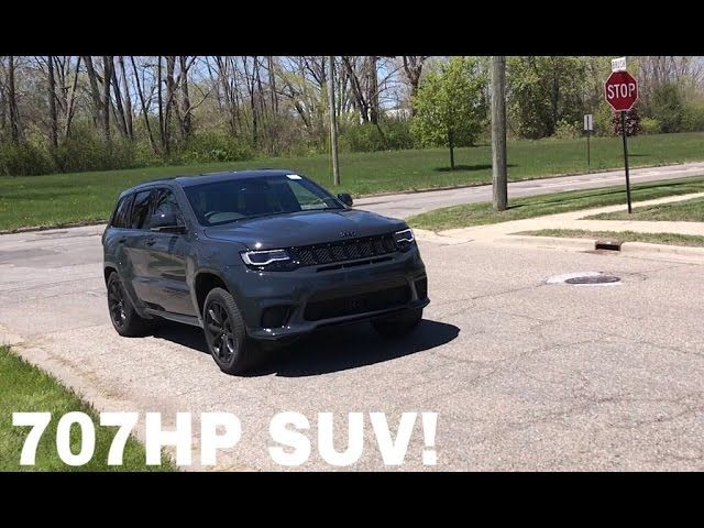 The Jeep Grand Cherokee Trackhawk will be a monster when it hits the streets. A 707 horsepower SUV with all-wheel drive and all the create comforts of a modern luxury car means you can go very, very fast while staying cozy. It'll be one of the fastest mom mobiles on the planet. Recently, a kid …