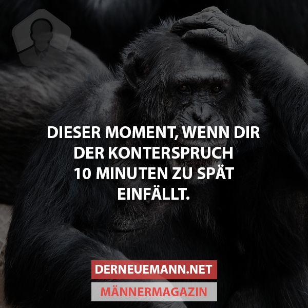 Konterspruch #derneuemann #humor #lustig #spaß