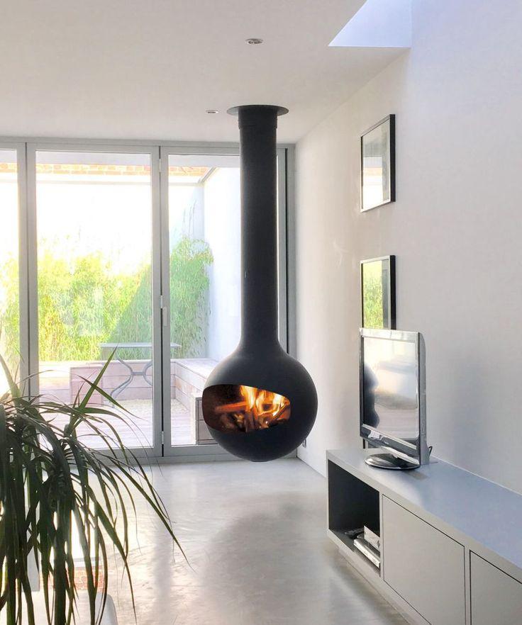 les 25 meilleures id es de la cat gorie chemin e centrale sur pinterest a centrale poele. Black Bedroom Furniture Sets. Home Design Ideas