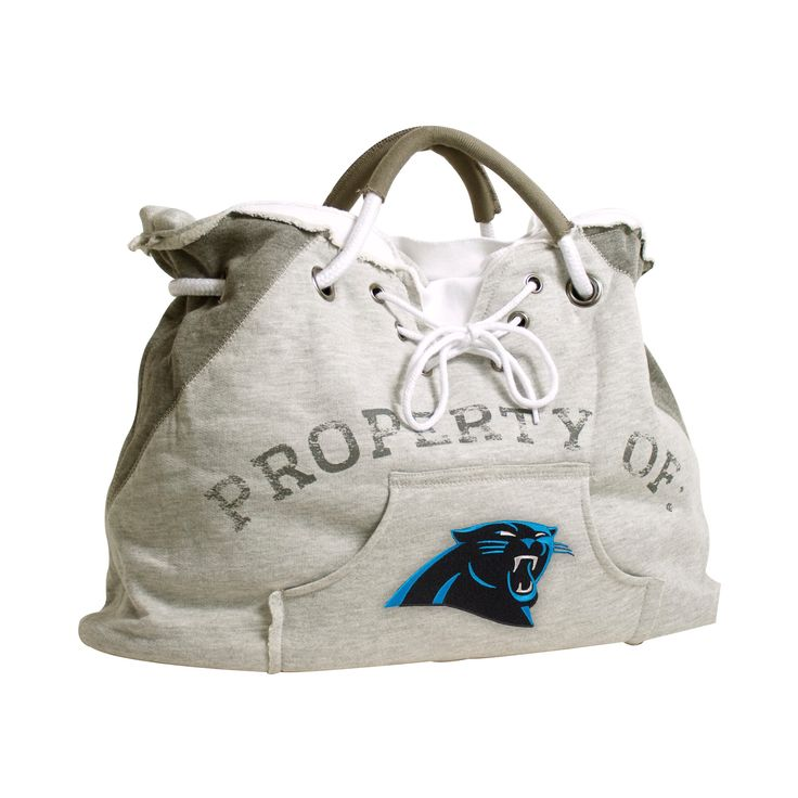 NFL Carolina Panthers Hoodie Tote, Women's