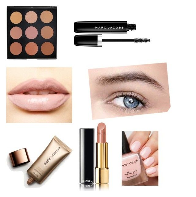 """""""TLR 2"""" by kate-rose-ellery on Polyvore featuring beauty, Chanel, Nude by Nature, LASplash, Morphe and Marc Jacobs"""