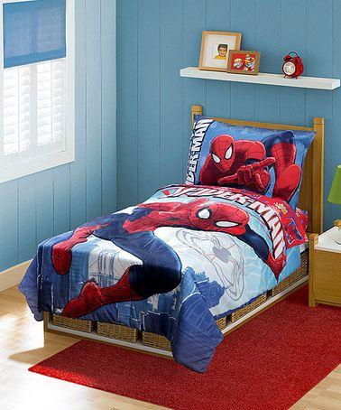 Baby Boom Spider Man Bedding Set