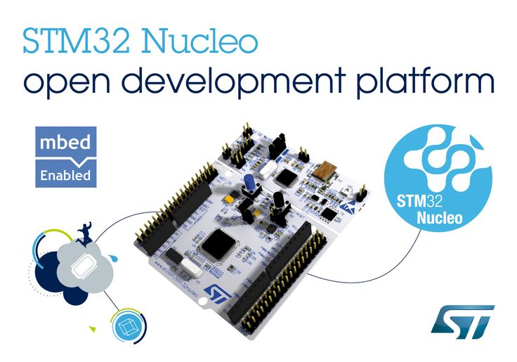ST Nucleo F401RE. High extensibility platform providing an affordable and flexible way to build prototypes with an STM32F401RET6 microcontroller.
