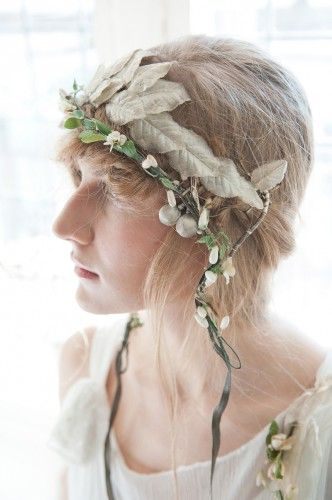 Sally Lacock, Vintage Inspired Vintage Wedding Dress Collection 2012-2013 | Head piece by Emma Caderni for sally lacock #vintage #wedding