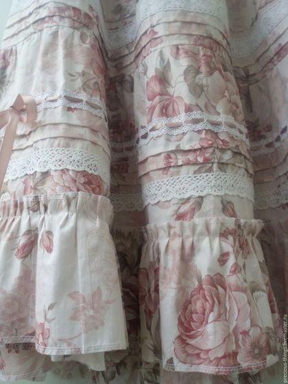 """Юбки ручной работы. Летняя юбка в пол в стиле бохо """"Какао для принцессы"""". Кира. Ярмарка Мастеров. Юбка бохо"""