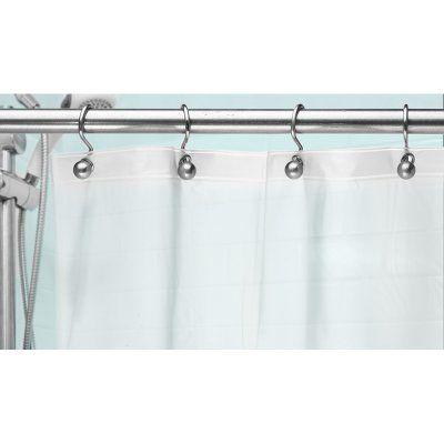 Popular Bath 8 Gauge Shower Liner with Metal Grommets - 908039, Durable