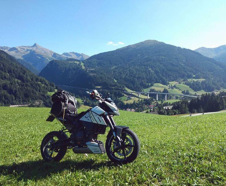 The stuff from movies  Very sereal #ktm #690 #duke #ktmduke #dukearmy #ktmduke690 #duke690 #690duke #ktm690 #lc4 #myktm #streetbike #nakedbike #bikepic #bikeporn #trip #tour #touring #travel #traveling #adventure #austria #mountains