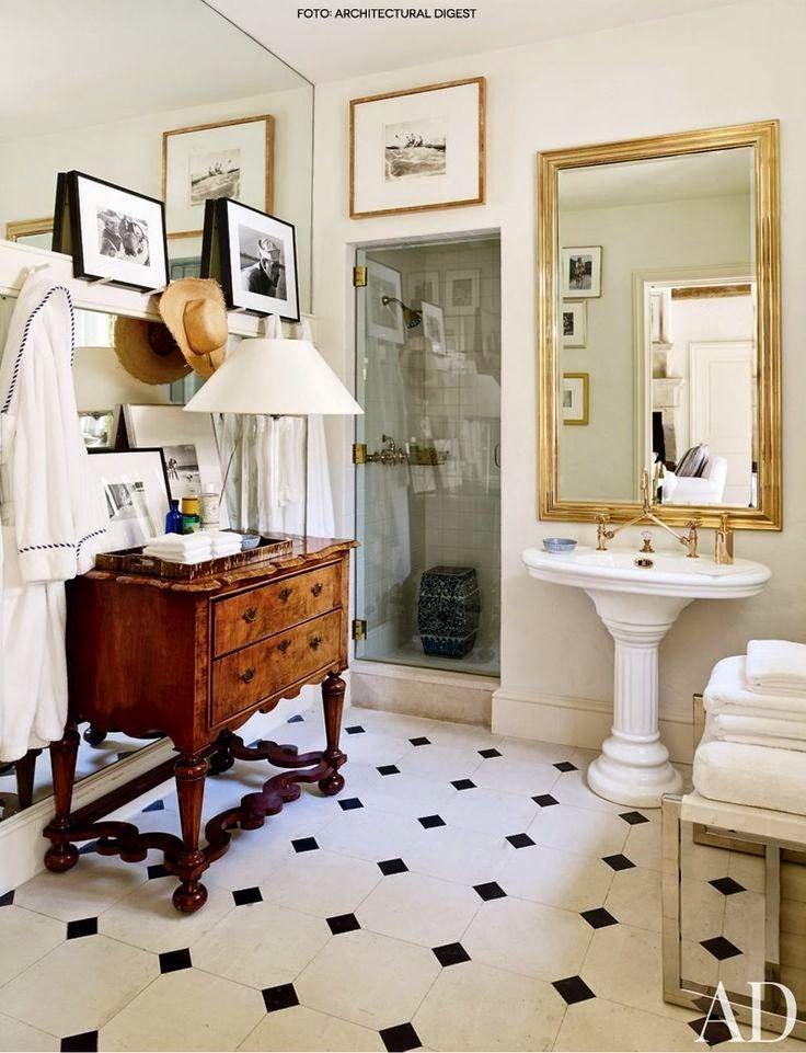 blog de decoração - Arquitrecos: Banheiros em preto e branco + Pesquisa de Mercado Arquitrecos