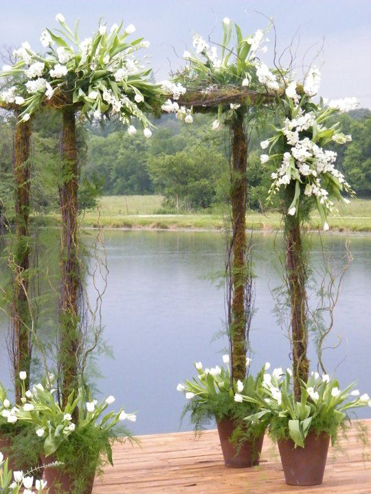 25 best images about wedding arbors on pinterest rustic for Arbor wedding decoration ideas