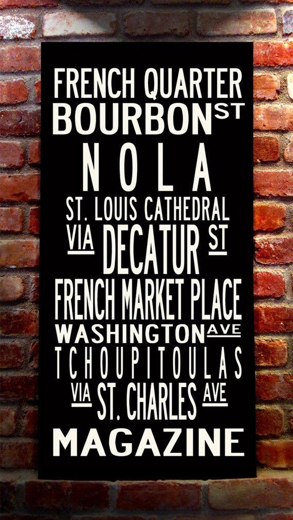 I love New Orleans.