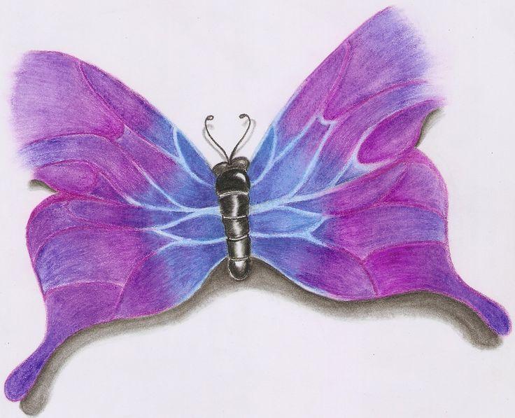 ilustración a lapices de colores.