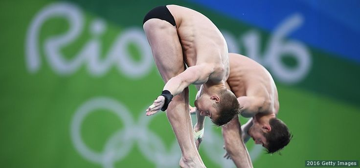 David Boudia and Steele Johnson won the silver medal in synchronized 10-meter on Monday, the first day of Olympic competition for the U.S. divers