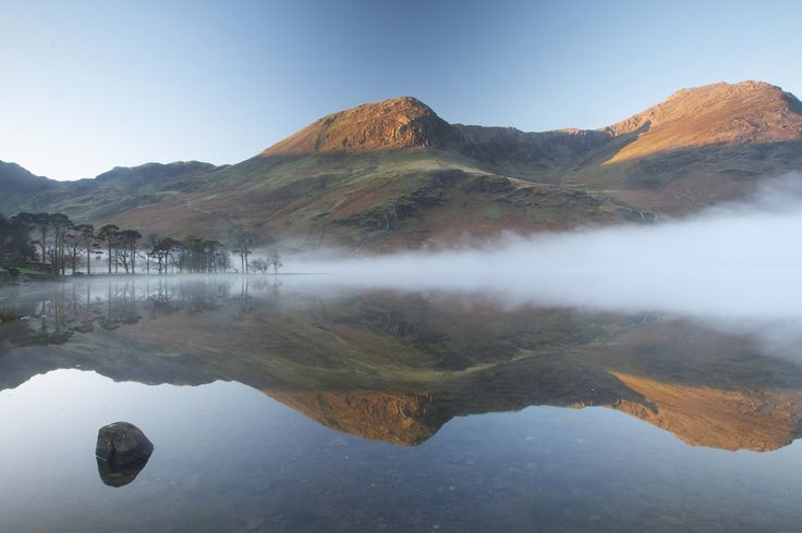 Buttermere in the Mist, In The Lake District, England  #travel #seebeforeyoudie #thelakedistrict