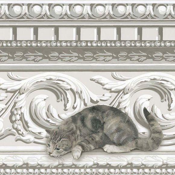 """Frise papier peint """"Paddy & Louis Border"""" de la collection Whimsical de Cole and Son."""