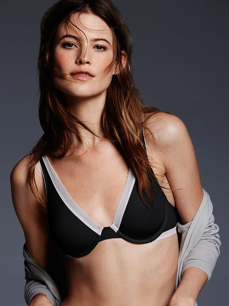 Gotta love the colorblock treatment. // Victoria's Secret Unlined Demi Bra