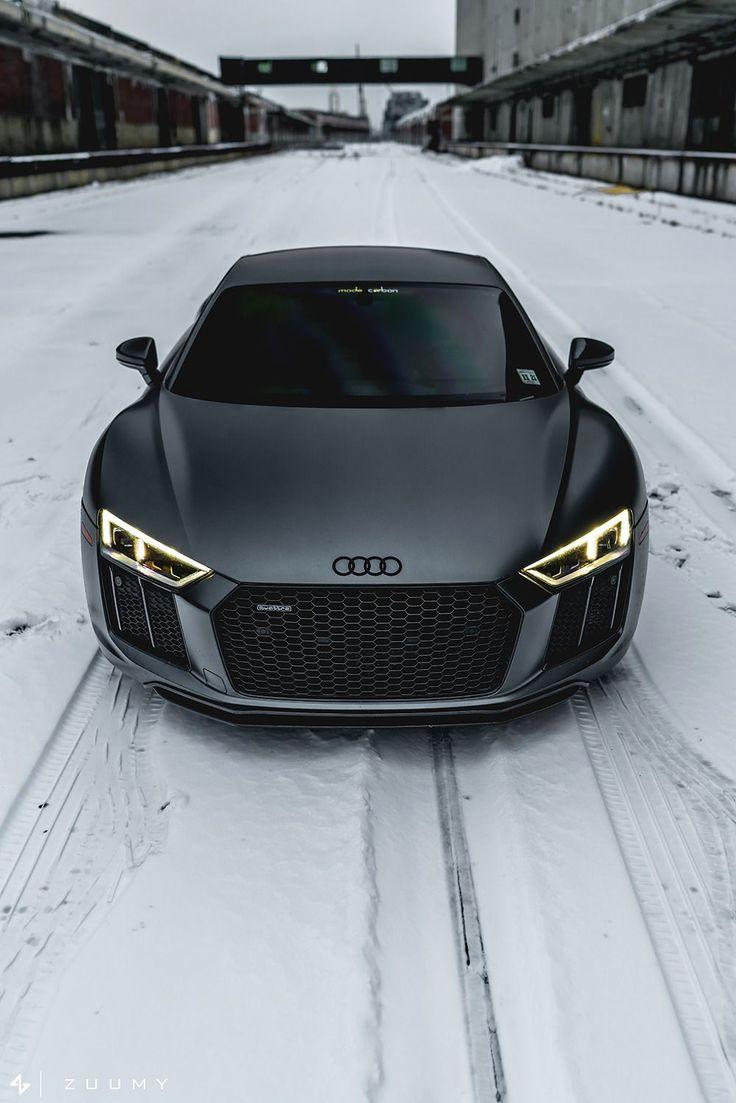"motivationsforlife: ""Matte Daytona Grey Audi R8 V10 Plus by Sam A (Mode Carbon)"" – Huseyin"