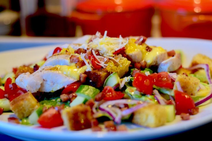 Cæsarsalat – Kongen av salater. – gladkokken