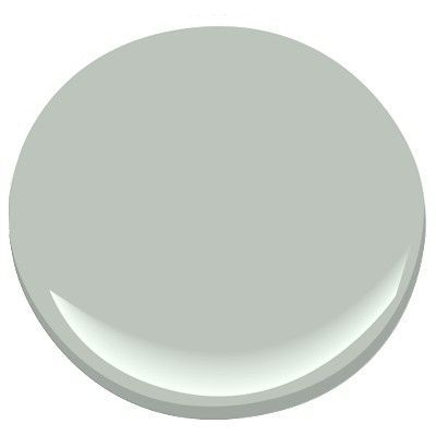 Hot Paint Pick: Benjamin Moore Tranquility AF-490. It's a blue green gray, which looks great in a living room, master bedroom, master bathroom, etc. by rebecca2