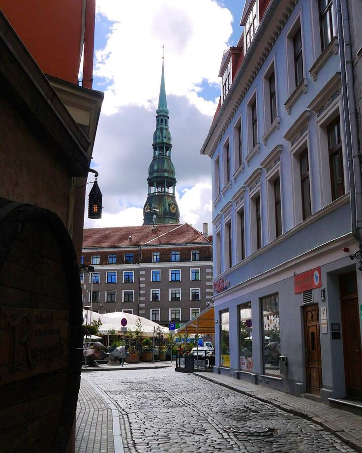 #Alley views in #Riga, #Latvia⠀  Photo: Martin Klimenta⠀  #BalticsTravelwithMIR #balticstravel #balticstourism #visitlatvia #latviatours #latviatourism #traveltuesday #travel #tourism #eurotrip #seetheworld #bestofthebaltics #architecture #lightanddark #streetviews #citylife #travelgram #seetheworld #beautifuldestinations #instapassport ⠀