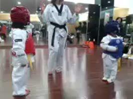 The most intense taekwondo fight ever.