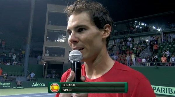 Latest news, pictures and video on Rafael Nadal, 14-time Grand Slam champion.