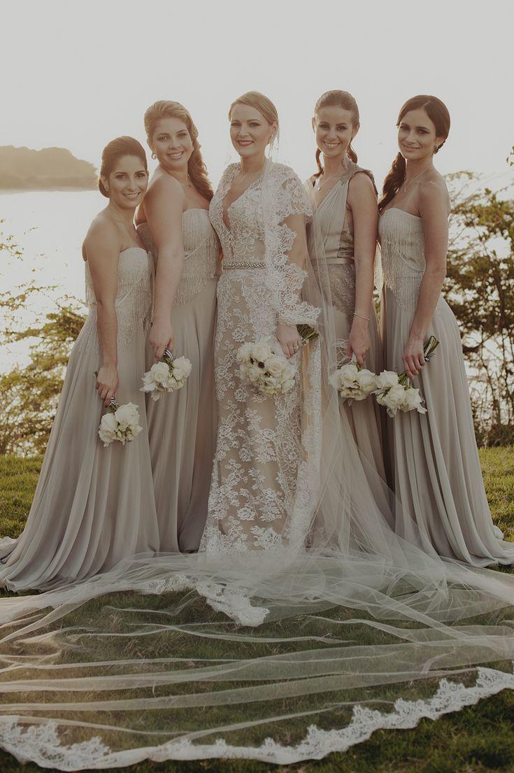 Taupe Bridesmaid Dresses | All Dress