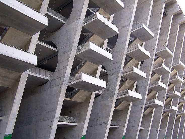 'braga stadium' by eduardo souto de moura in braga, portugal (2004)