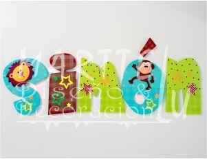 Marttelu diseño y decoracion Nombres Infantiles