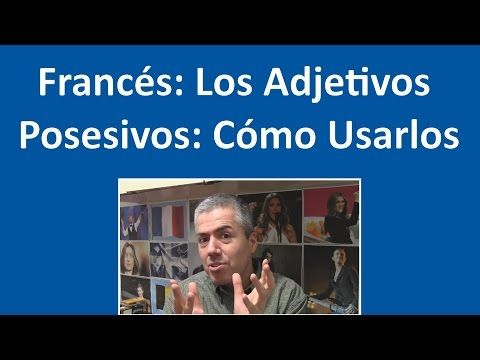 Francés: CE, CET, CETTE, CES: Adjetivos demostrativos / Curso de Francés Básico Clase 13 Francés - YouTube