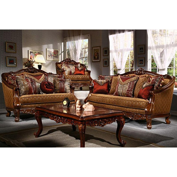 This Is The Definition Of Elegance At Its Finest Burgundy ColorOrange ColorVictorian Style FurnitureLiving Room
