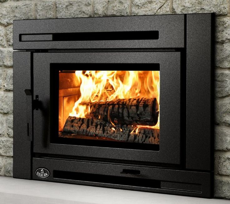 17 best ideas about wood burning insert on pinterest for Modern wood burning insert