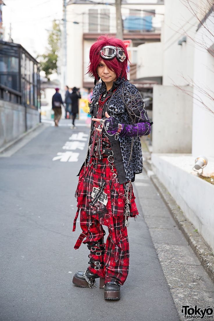 This is Air-K, the owner of Air-K Records. Sex Pot Revenge Harajuku Street Style