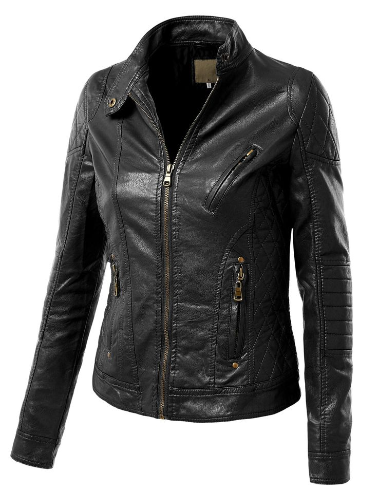 17 Best Ideas About Faux Leather Jackets On Pinterest Grey Leather Jacket Neutral Outfit And