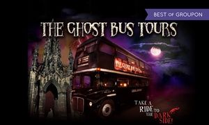 Children and adults can enjoy a theatrical comedy horror sightseeing tour, with a humorous and spooky ride through the sites of Edinburgh