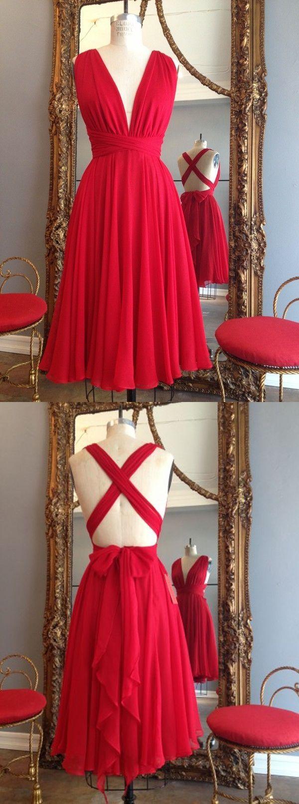 red bridesmaid dresses, hot bridesmaid dresses, v neck bridesmaid dresses, bridesmaid dresses, bridesmaid dresses with ruched, bridesmaid dress with bowknot
