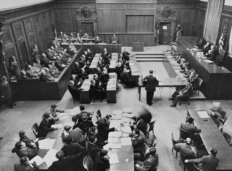 The Ministries Trial (or, officially, The United States of America vs. Ernst von Weizsäcker