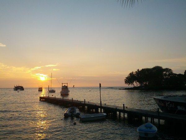 Kona in Big Island of Hawaii is a relaxing holiday destination.
