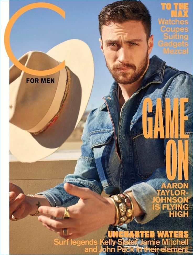 Aaron Taylor-Johnson covers the most recent issue of C for Men.